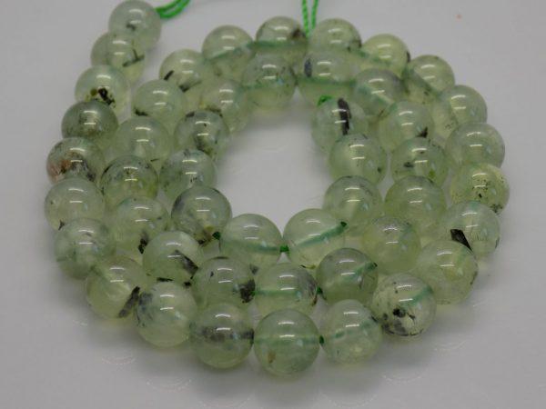 Aventurine vert pale perle et creation