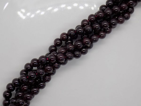 grenat pierre naturelle perle et creation