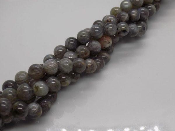 Labradorite grise naturelle perle et creation