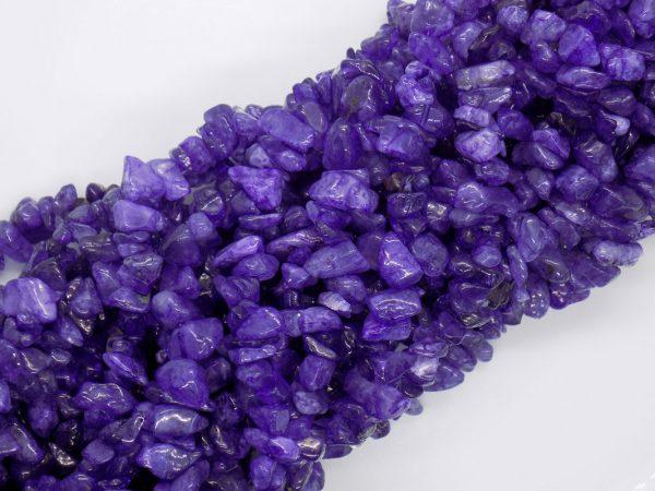 Améthyste Naturelle violet perle et creation