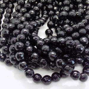 perle Onyx facette perle et creation