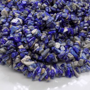 Lapis Lazuli chips naturelle perle et creation