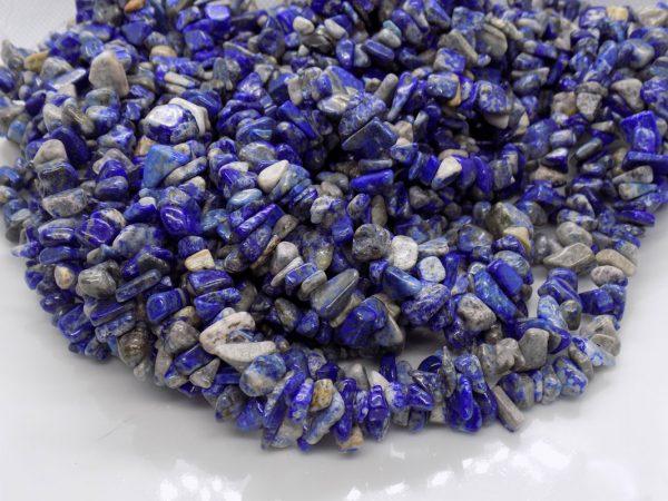 Lapis Lazuli chips naturelle perle et creation