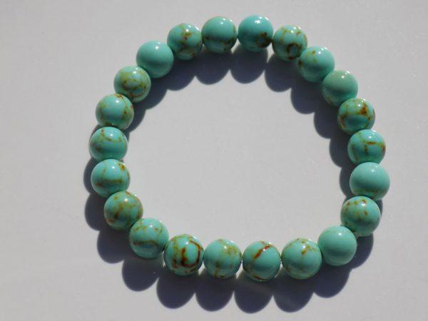 bracelet perle Turquoise tibet