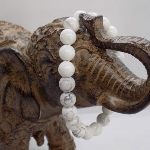 Bracelet perle Howlite