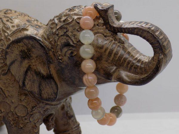 bracelet pierre du soleil perle