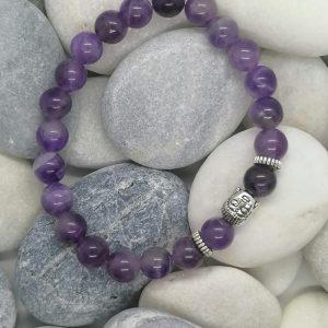 bracelet Bouddha Améthyste