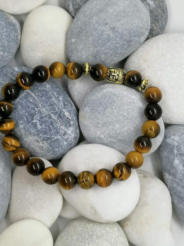 bracelet bouddha œil de tigre