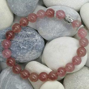bracelet bouddha quartz